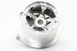 QS Chrome/Nylon Rear Wheel (24mm Hex) (Set of 2)