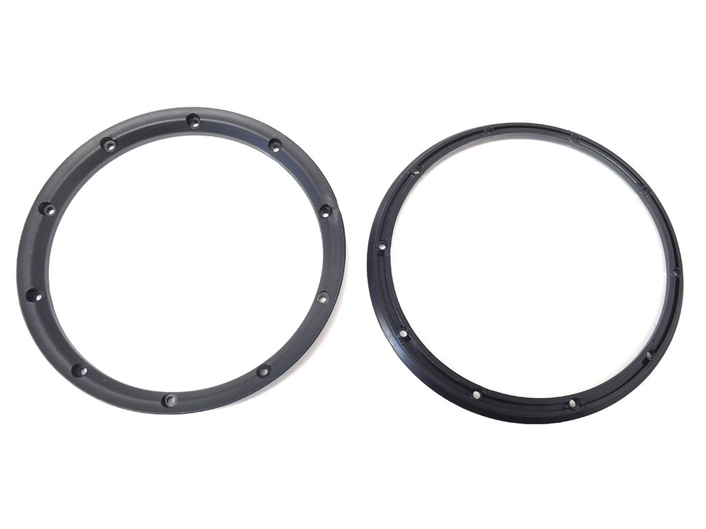 Black Inner Beadlock Rings for LT & SLT (2)