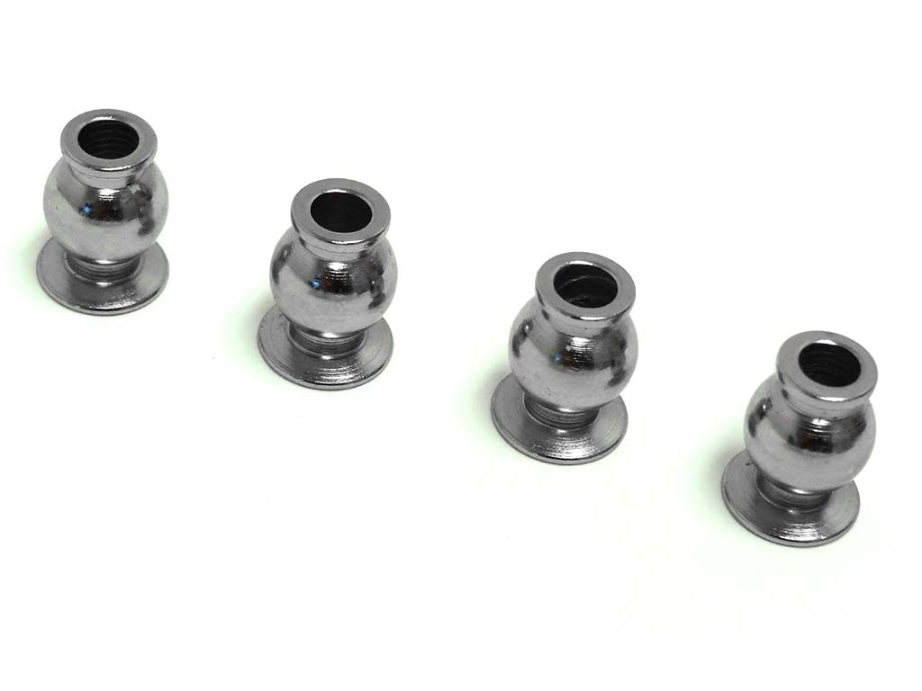 Rovan F5 Race Car Linkage Hub Upper Suspension Ball Head Joint (4) fits MCD 3403