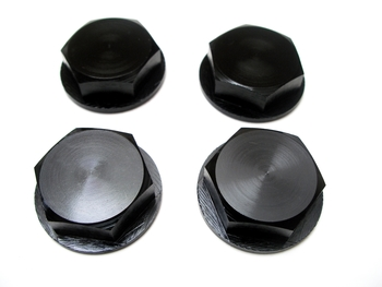 Wheel Nuts Enclosed (black)