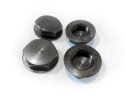 Wheel Nuts Enclosed (gun metal)