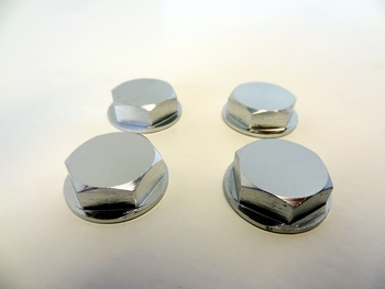 Baja 5B, 5T, 5SC Wheel Nuts Enclosed (silver)