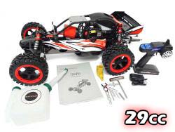 1/5 Scale 290Q Gas Q-Baja Buggy Ready To Run 29cc (Shorty) with new Dual Exhaust!