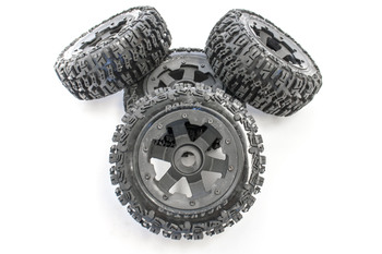 Baja  Truck Knobby Wheels (set of 4)