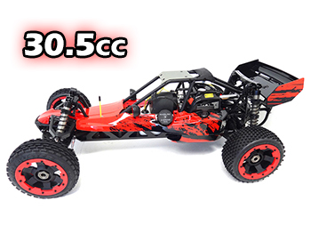 1/5 Rovan 305A Gas Petrol Buggy Ready To Run RTR 30.5cc HPI Baja 5B SS King Motor Compatible with PERFORMANCE PIPE! (RED)