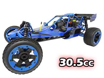1/5 Scale Ready To Run 305A 30.5cc Gas Buggy (nylon blue)