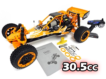 1/5 Scale Ready To Run 305A 30.5cc Gas Buggy (nylon orange)
