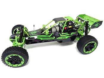 1/5 Scale Ready To Run 305A 30.5cc Gas Buggy (nylon green)
