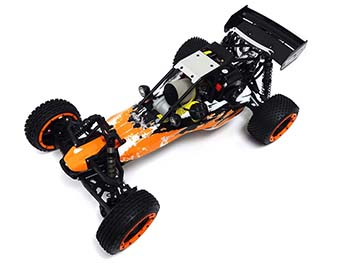 1/5 Scale Rovan 360A Gas Petrol Baja Buggy Ready To Run 36cc (wacky orange)