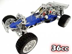 1/5 36cc 360B Full Aluminum RTR Gas Powered Baja
