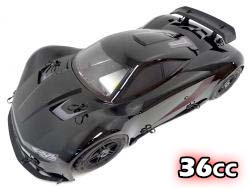 1/5 Scale 360F5 36cc Gas 4WD On-Road RTR Race Car (black)