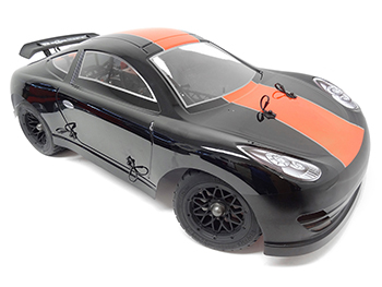 1/5 Scale 360FC RTR Porsche 36cc Gas Car (black/red)
