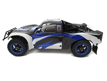 45cc High Performance Ready To Run LT450 4WD Short Course Truck (black/white/blue)