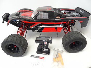 ** USED** 1/5 BAJA MAX 5T Truck (black/white/red)