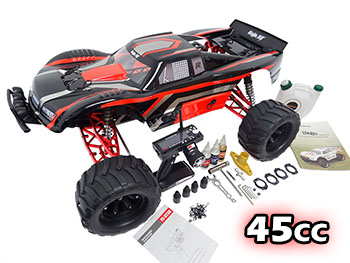 NEW 1/5 BAJA MAX 5T Truck (black/white/red)