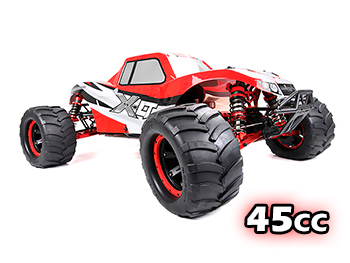 NEW 45cc High Performance RTR XLT450 4WD Monster Truck (Red)