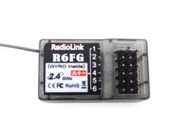 Radio-Link R4EH-G 2.4G 4CH Gyro Function Receiver RC3S RC4G RC6GS Transmitter TX