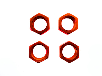 Stock Aluminum Wheel Nuts (orange)