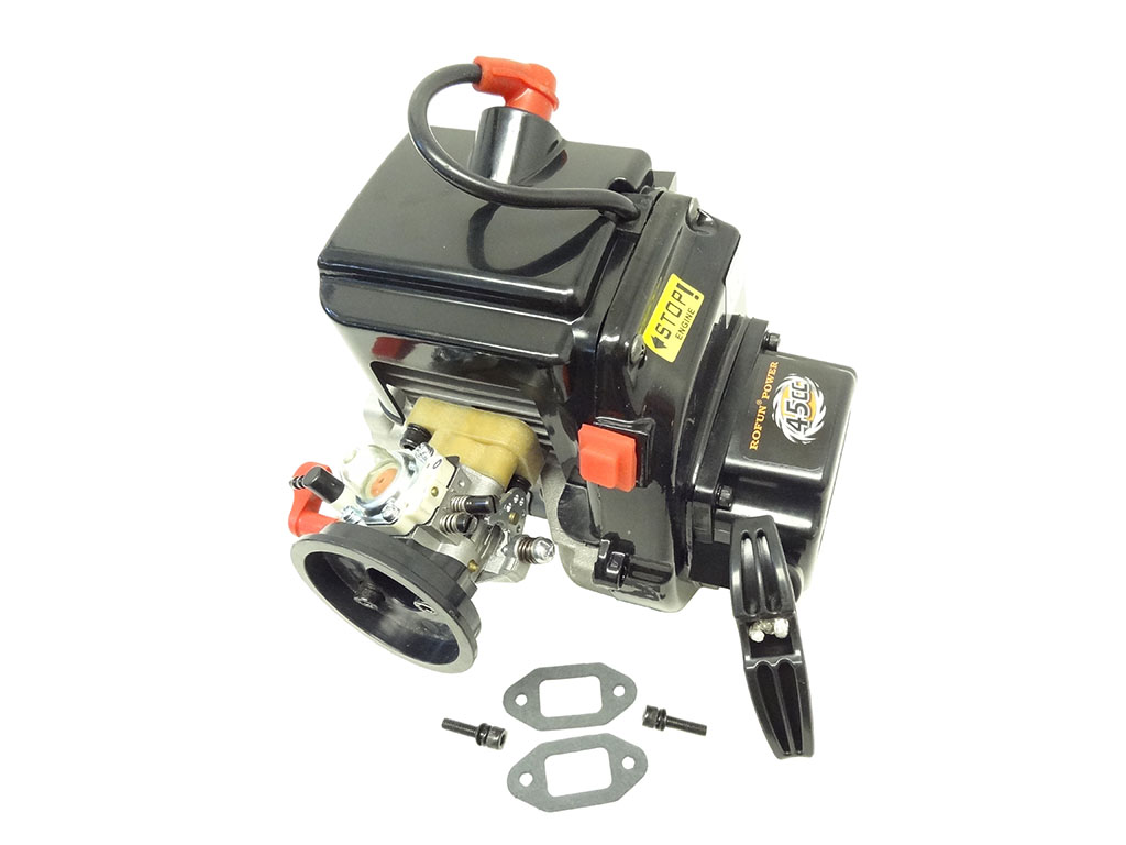 Rovan Baja 45cc 4-Bolt Motor Gas 2 Stroke Engine
