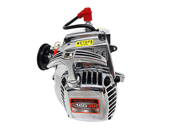 Rovan Baja 36cc 2-Stroke Gas 4-Bolt Chrome Dual Ring Piston Engine