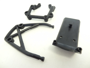 Bumper, Support Brace and Rear Cage Support