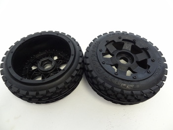 Baja Buggy Front Dirt Wheels (Set of 2)