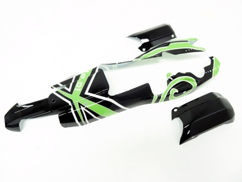 Buggy Poly Carbonate Body Kit (Green/Black)
