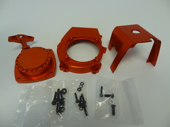 CNC Aluminium Motor Parts Kits (orange)