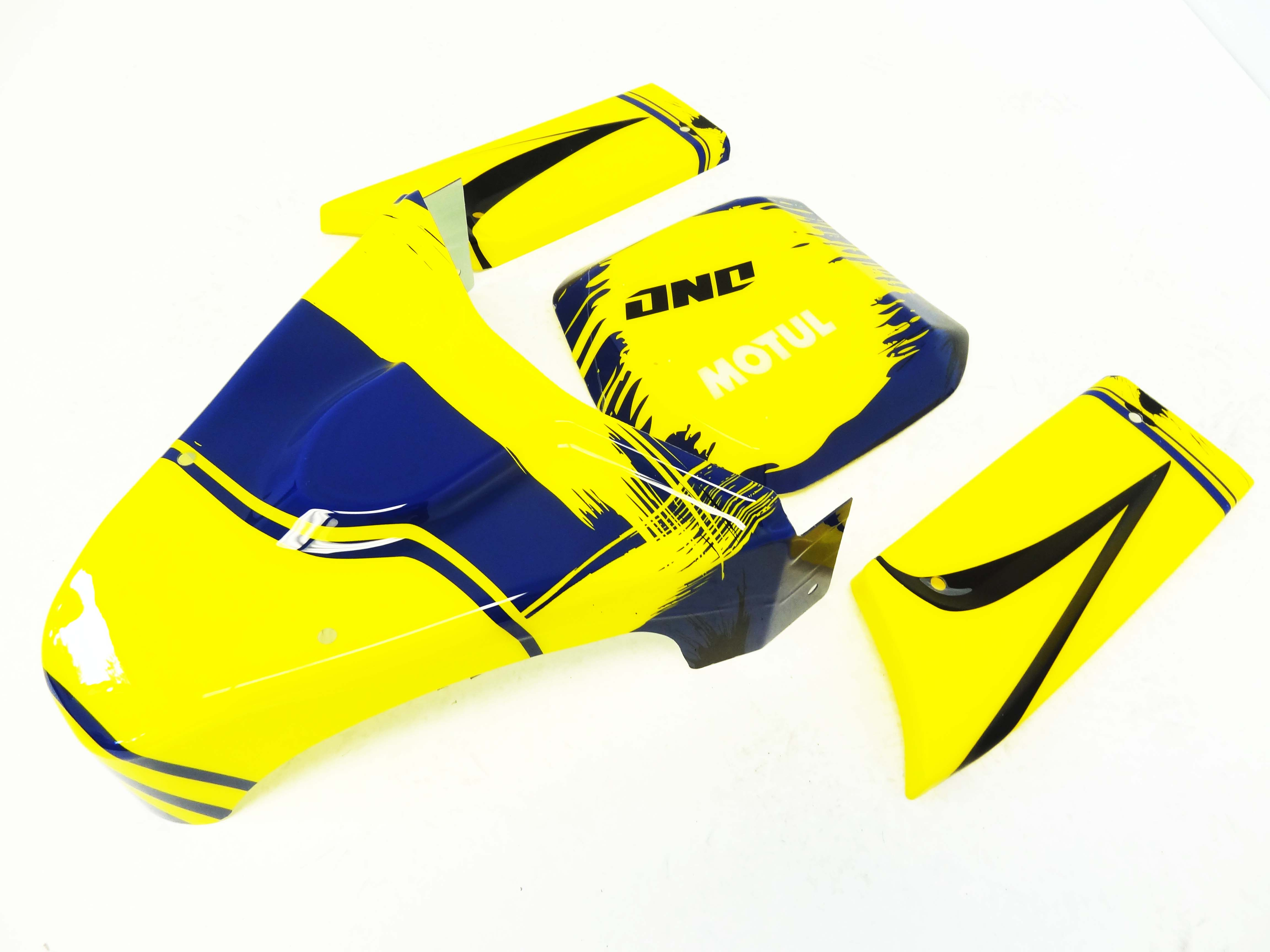 Panel Kit for Internal Roll Cage (yellow/blue)