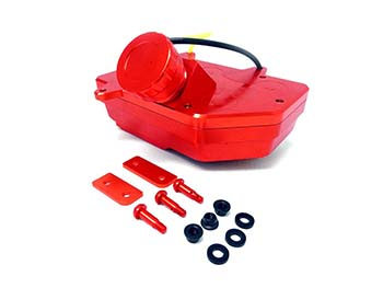 Baja Heavy Duty CNC Aluminum Gas Tank (orange)