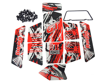 Baja Panel Kit for Metal Sand Rail Roll Cage
