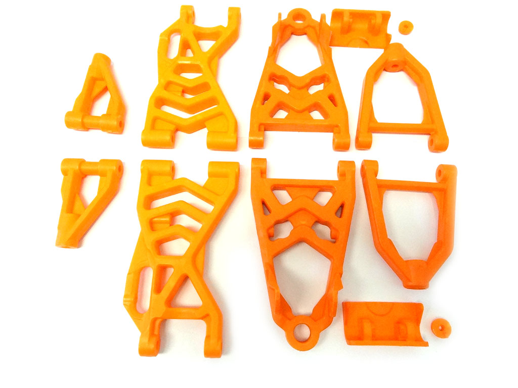 Baja Nylon Upgraded Suspension Arm Kit (orange)