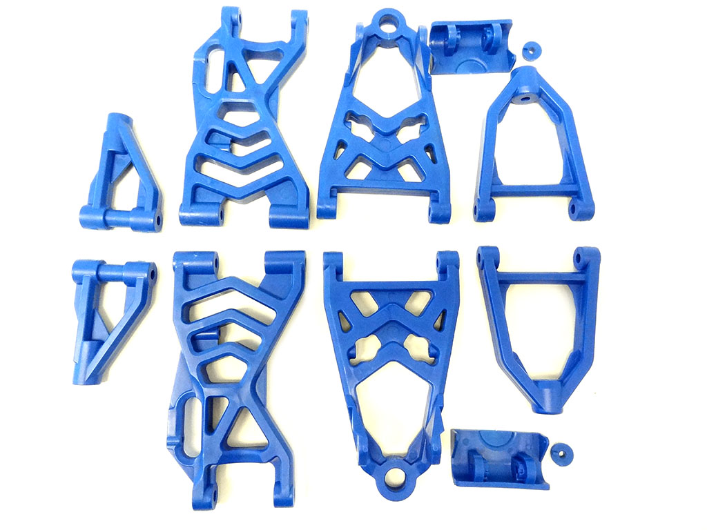 Baja Nylon Upgraded Suspension Arm Kit (blue)