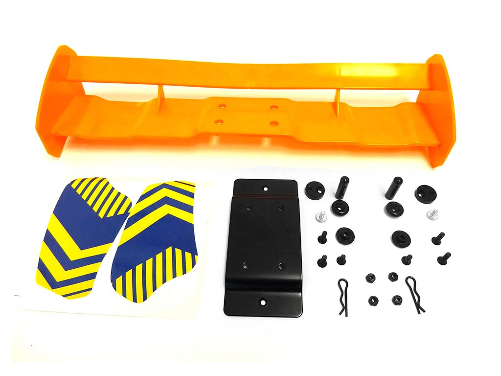 Baja Oversize Rear Wing, Spoiler Kit (orange)