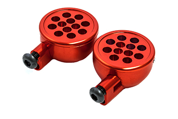 CNC Aluminum Light Pods (Orange)