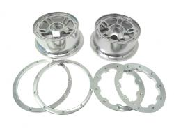 Rovan CNC Baja 5b 5T Aluminum Front Wheels Rims (set of 2)