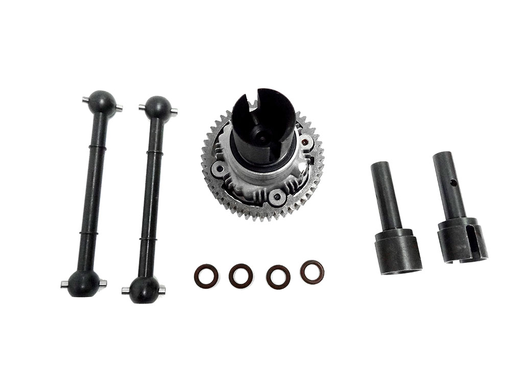Baja Differential with HD Hardened Axles, Outdrives
