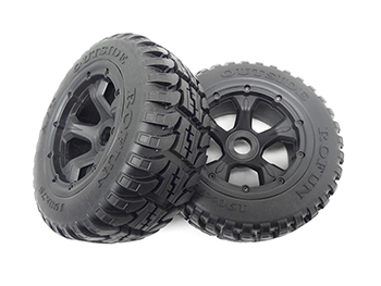 1/5 Baja 5T Terminator, 5SC Rear Truck All Terrain Tires, Wheels