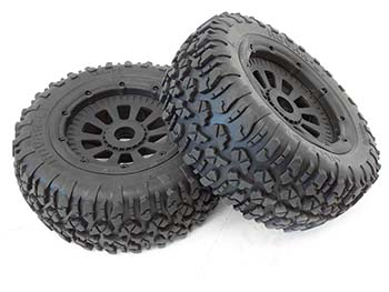 LT 4WD SC Truck Dirt Wheels (Set of 2)