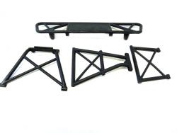 Rovan LT 1/5 Scale Short Course Rear Bumper Kit Fits LOSI 5IVE T & King Motor X2