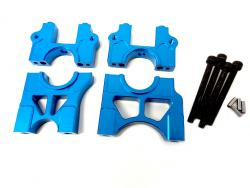 LT/SLT CNC Aluminum Center Quick Change Differential Mount Kit (blue)