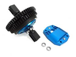 4WD LT Short Course Truck and SLT Buggy and LOSI 5IVE-T 2 Speed Transmission Gear Kit (blue)