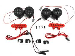 Rovan LT, LOSI 5IVE-T KM X2 Short Course Truck Complete LED Light Kit-2272