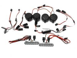 Rovan LT, LOSI 5IVE-T KM X2 Short Course Truck Complete LED Light Kit