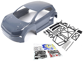 Rovan RF5B Race Car to RF5B Rally Car Body Conversion Kit (grey)