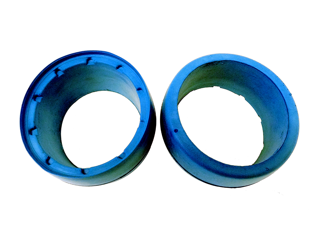 Blue Rear Molded Tire Foams (set of 2)