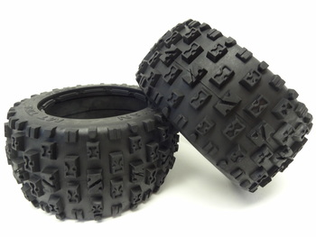 Baja Rear Knobby Bow-Tie Off Road Tires (set of 2)