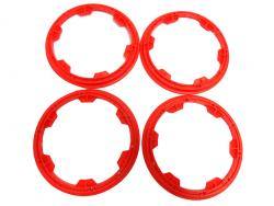 Heavy Duty Nylon Baja Outer Bead Lock Rings (red)