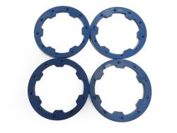 Heavy Duty Nylon Baja Outer Bead Lock Rings (blue)
