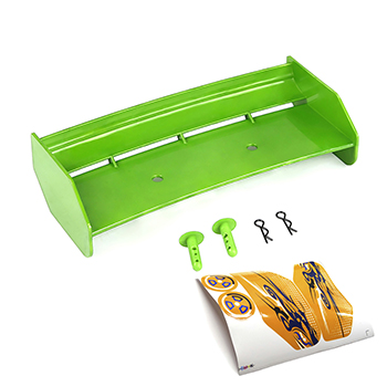 Rovan Baja Buggy Nylon Plastic Wing with Hardware (Green)
